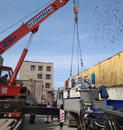 Перевозка промышленного оборудования в Саранске