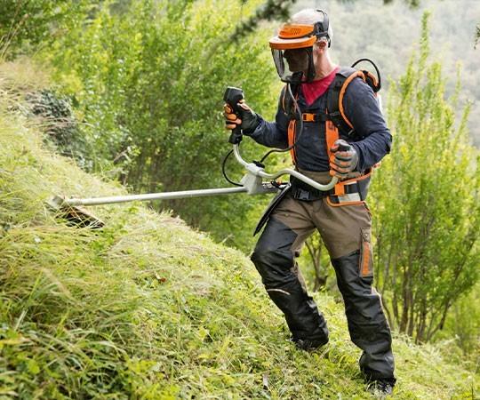 Покос травы в Саранске и Республике Мордовия