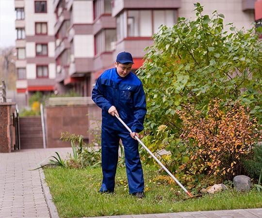 Уборка территории в Саранске и Республике Мордовия