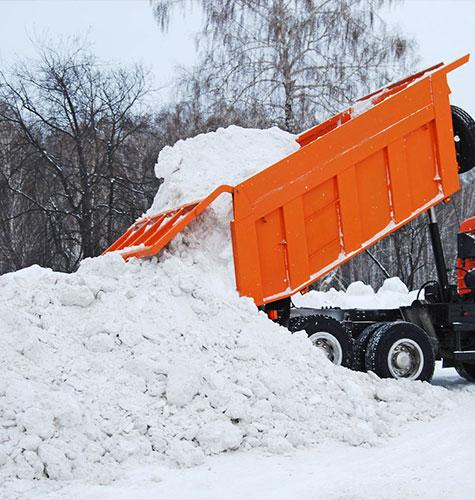 Услуга по уборке снега в Саранске