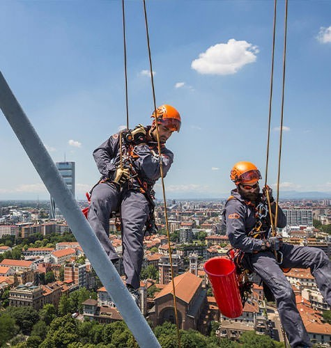 Услуги промышленного альпинизма в Саранске