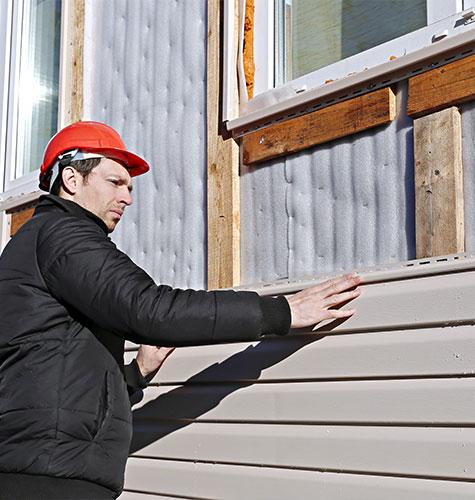 Отделка и ремонт фасада в Саранске